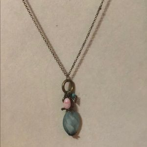 Jewelry - green and pink necklace